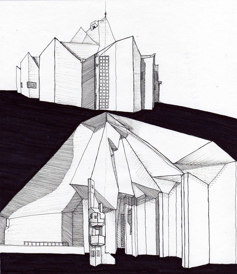 cristina bump aia leed ap bd c travel sketches. Black Bedroom Furniture Sets. Home Design Ideas