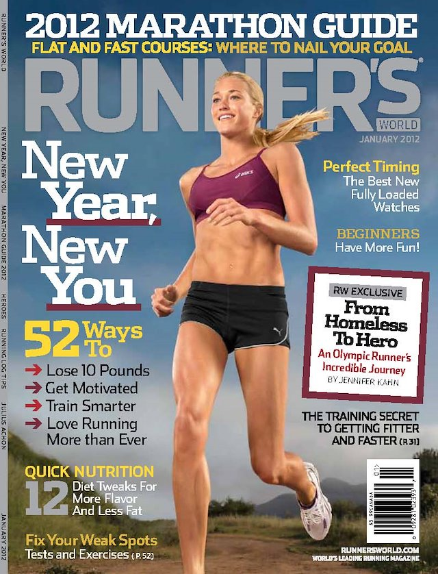 90a751e7a3 Andrea Maurio - Runner s World Magazine Covers