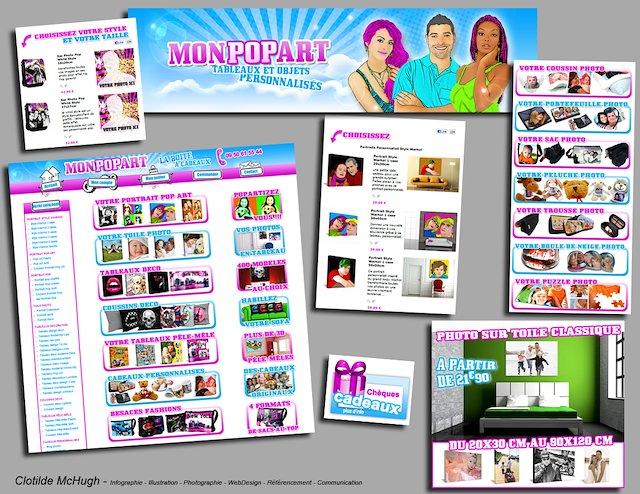 beb1e949338 Site Internet. Clotilde McHugh - Web Master pourMonpopart.com de 2010 à 2011