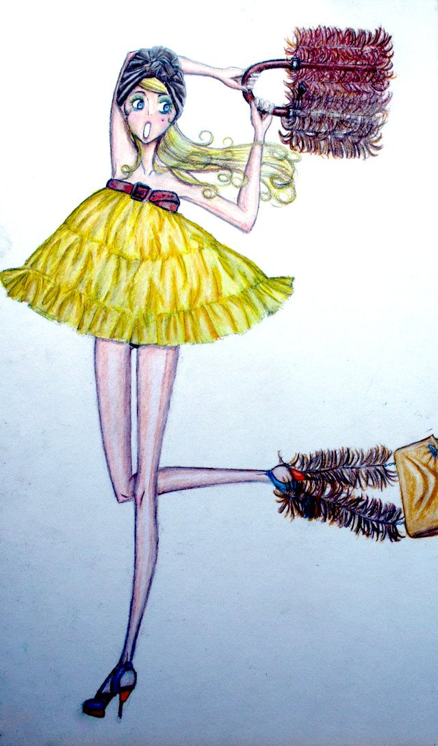 Fashion Illustrations Paul Negron S Portfolio For Parsons