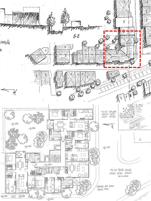 Building Design, Theory And Methodology 3   Public Housing Project  Istanbul,Turkey