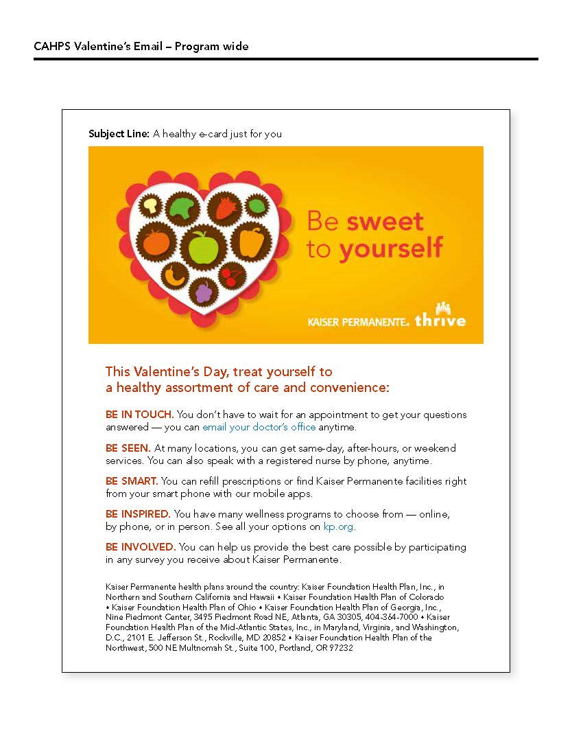 Valentine S Day Member E Card Email Marketing