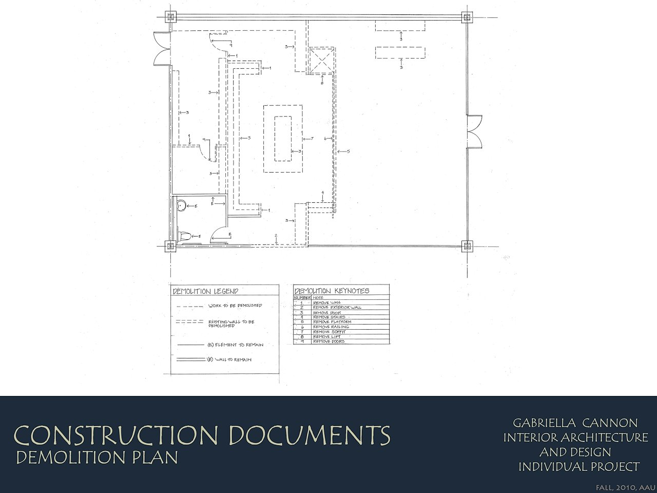 Gabriella Cannon Construction Documentation