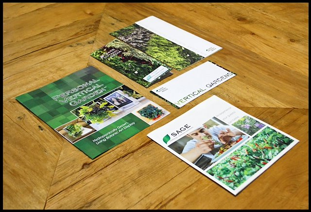 Print Marketing For Sage Vertical Garden Systemsu0027 Products