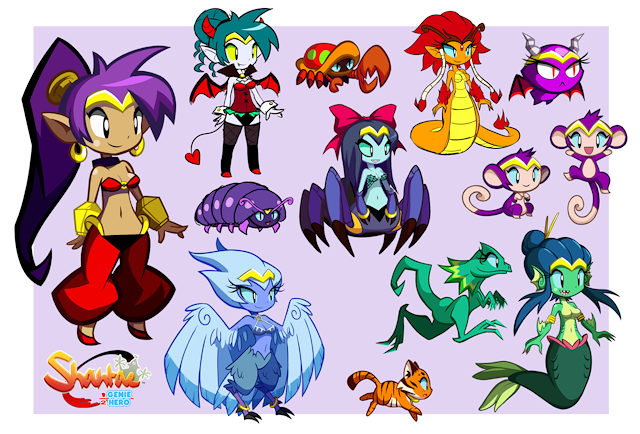 Image result for shantae transformations