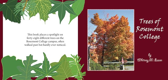 Rosemont College Campus Map.Whitney Esson S Designs Trees Of Rosemont College Book