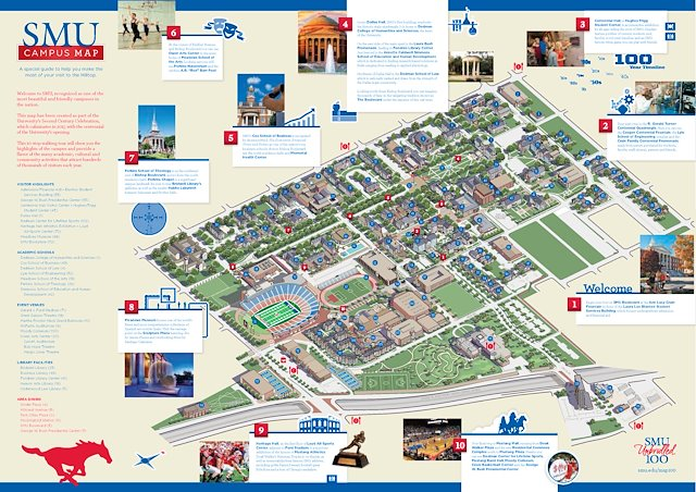 SMU Campus Map