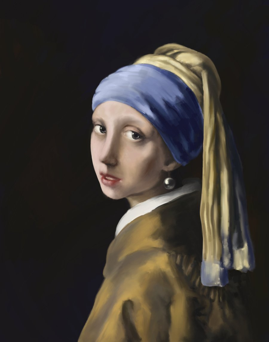 girl with a pearl earring An interactive study of the girl with a pearl earring by johannes vermeer.