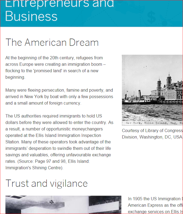 New Site For Amex Foreign Exchange