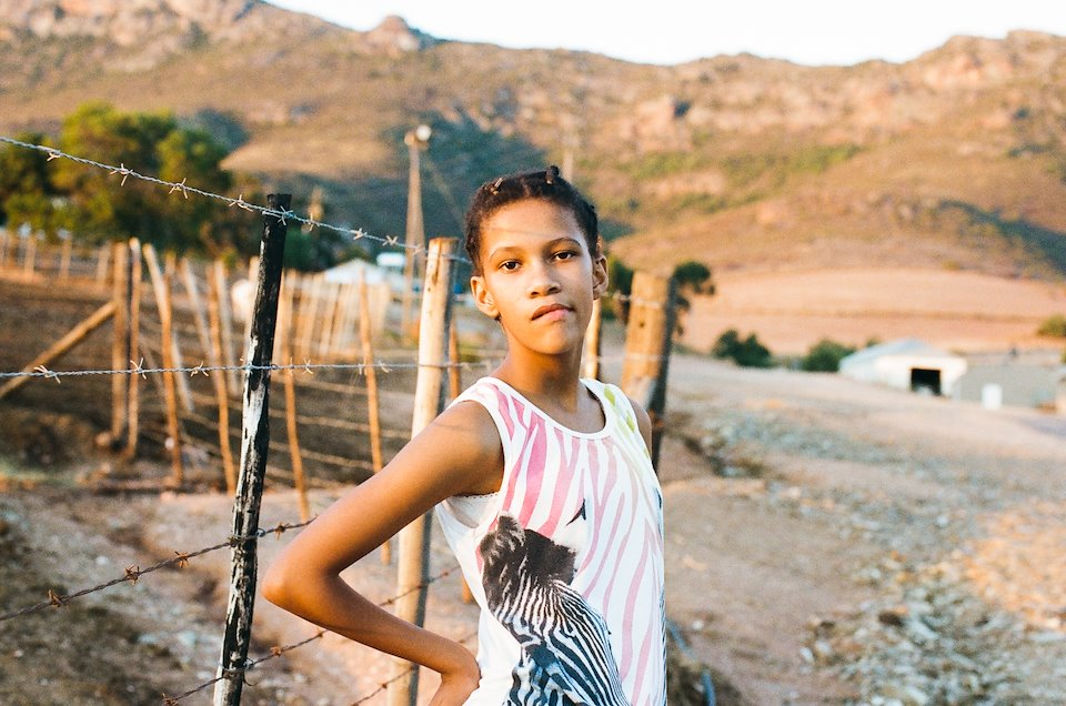 Tarryn Wyngaard. South African Cape Coloured actress