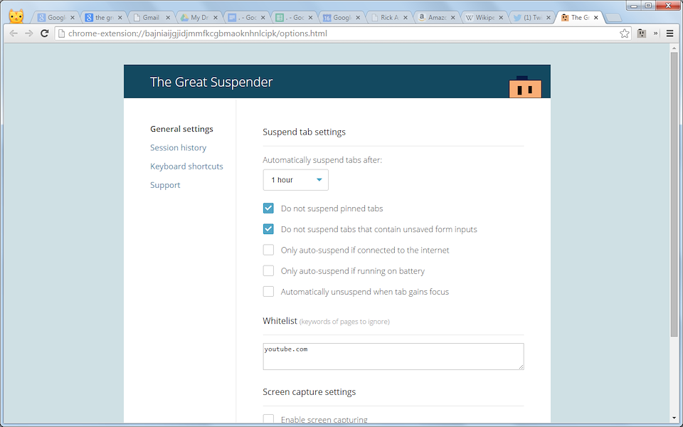 Great suspender the