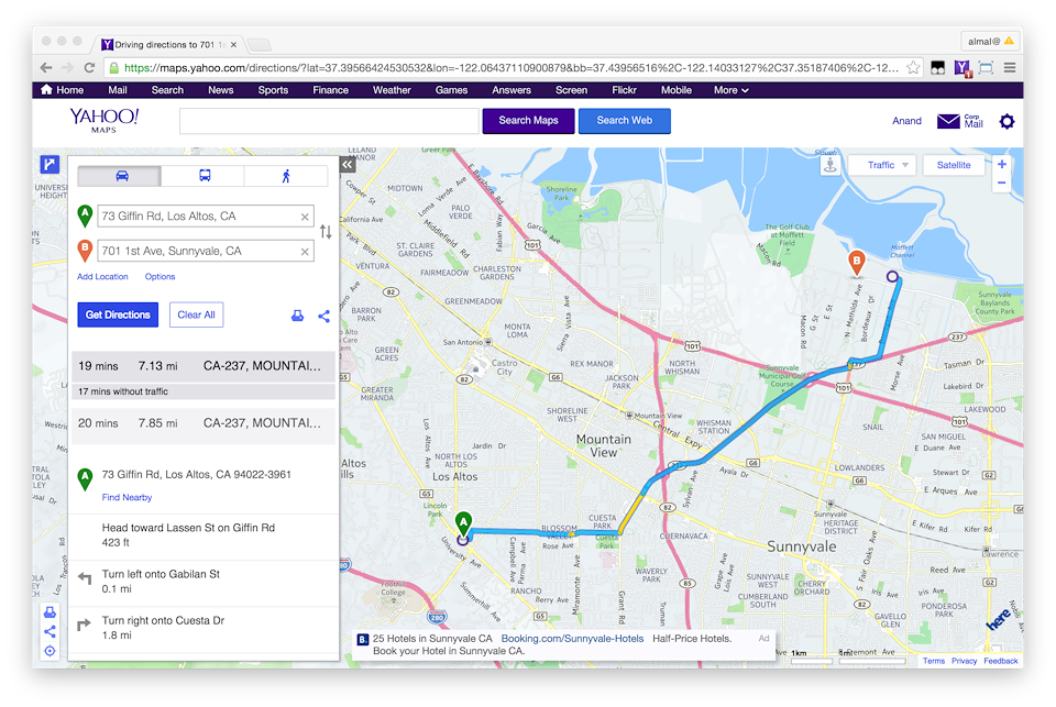 Yahoo Maps and Local Search - Anand Almal on