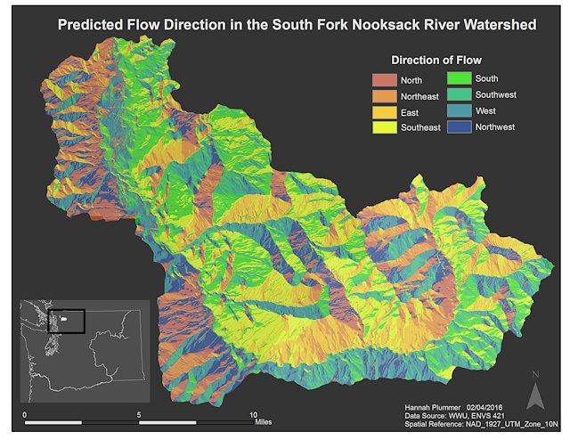 Hannah Koethler - GIS Work at Western Washington University
