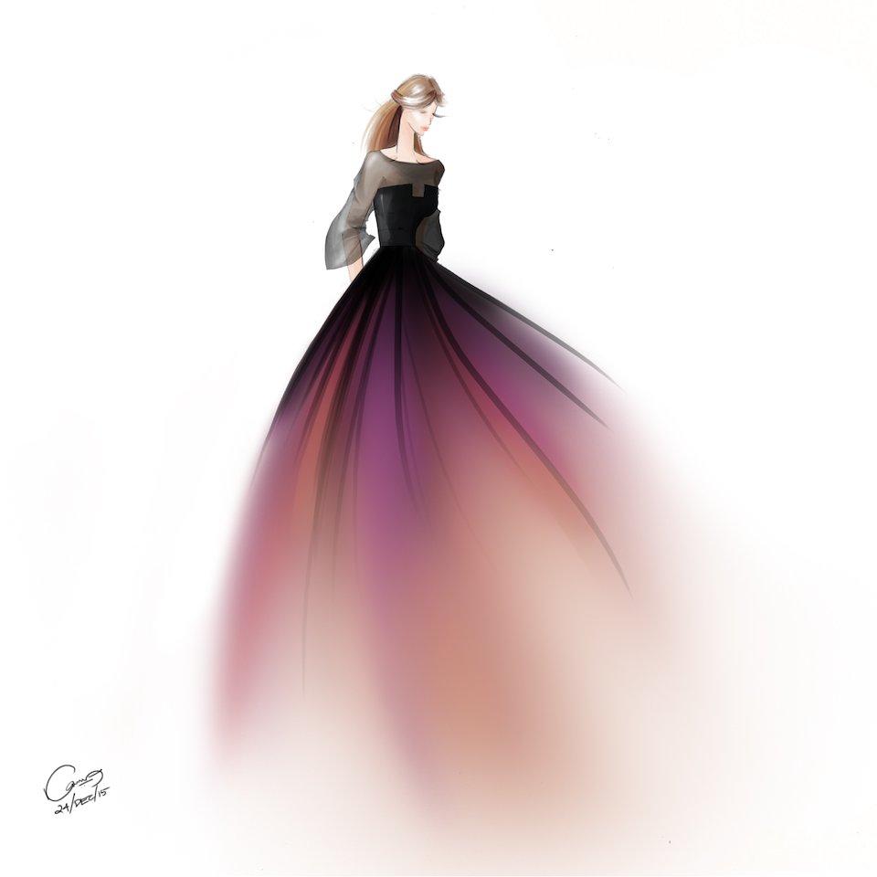 Fashion Illustration Karunya Manoharan