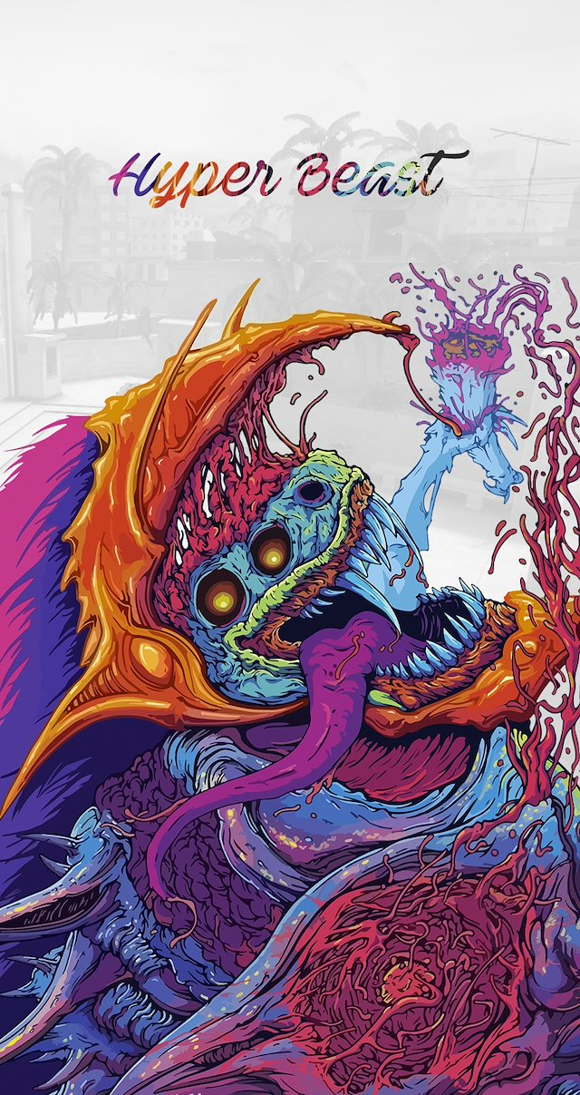 Hyper Beast Hd Phone Wallpapers Astrodesigns