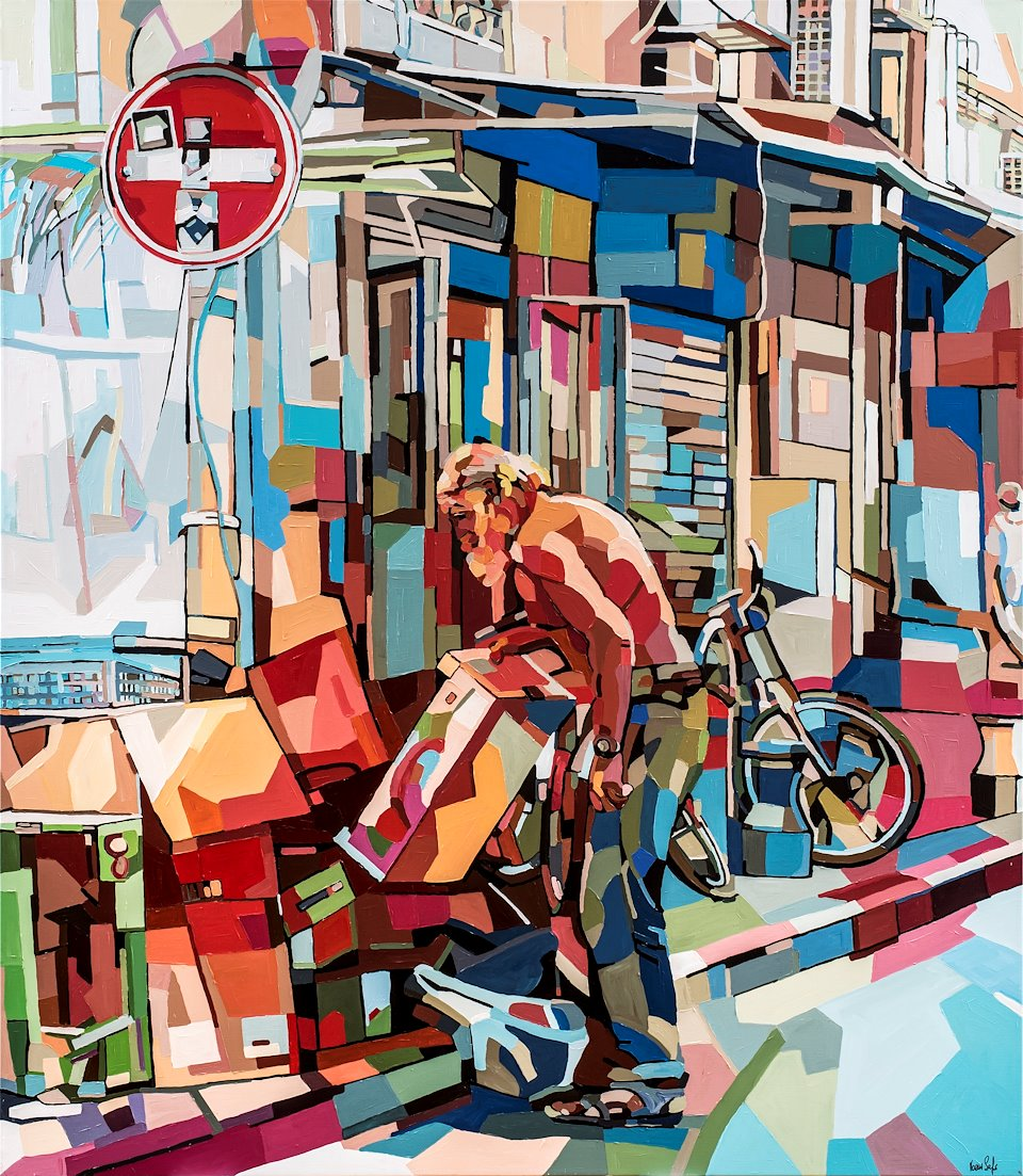 Urban Views series - years 2014-2017 - Noemi Safir ARTIST To give examples of artists work