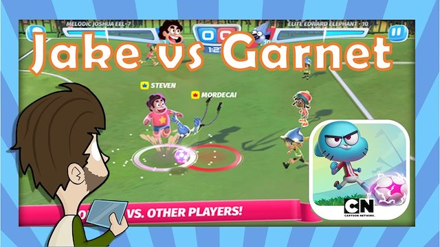 Cartoon Network Superstar Soccer Goal Carol Valmorbida Game Designer