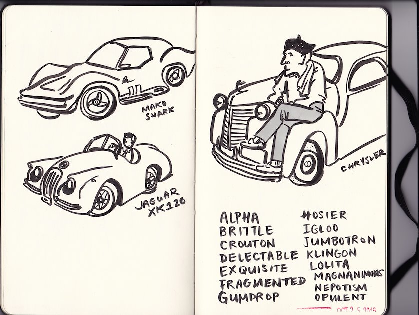 jaguar xk120 wiring diagram database Jaguar XK 180 diane abapo sketchbook green jaguar xk120