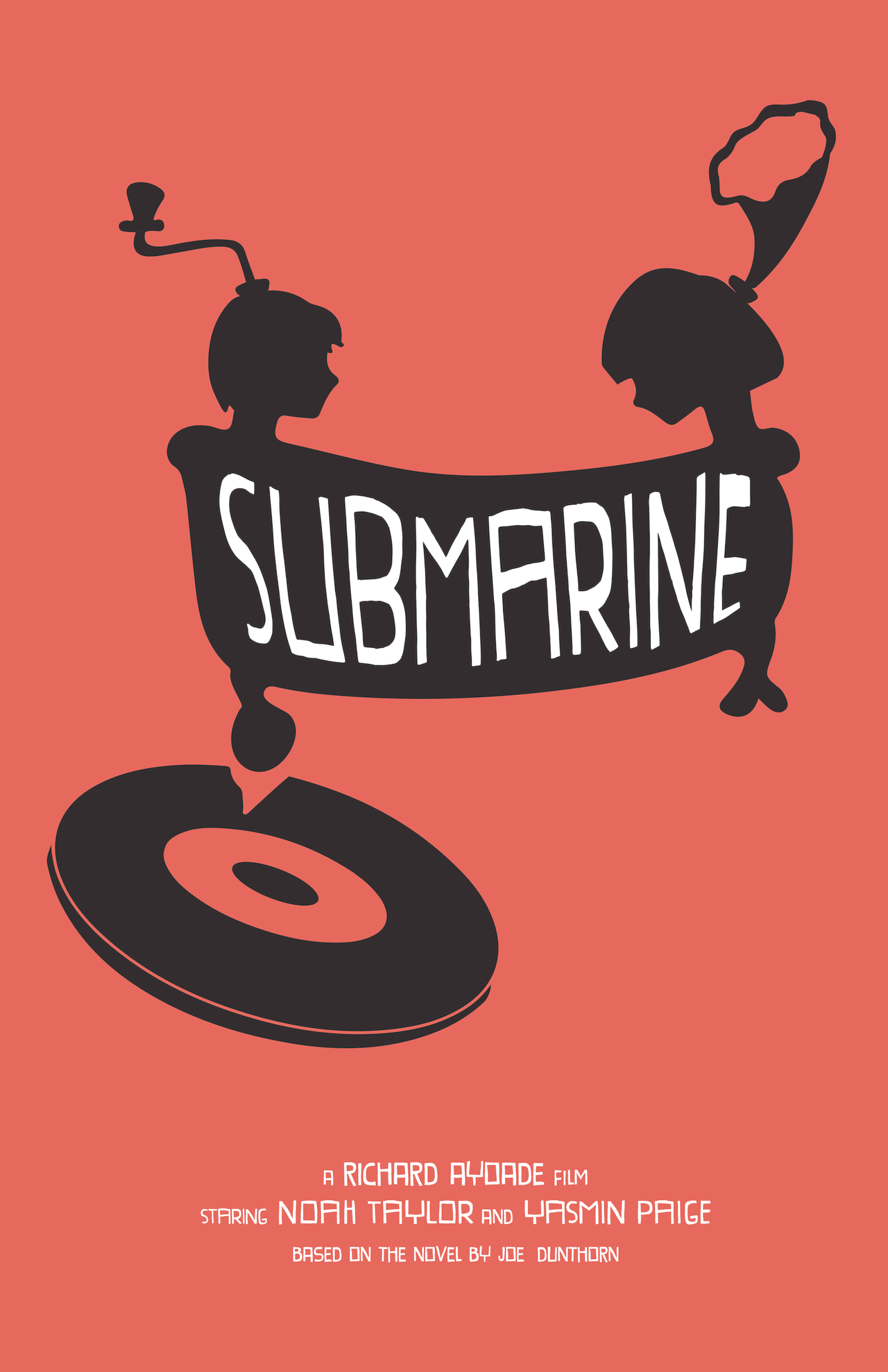 Cat Barrera Design - Submarine movie collector\'s poster