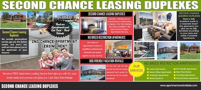 Second Chance Leasing Duplexes Apartments For Rent Near Me No