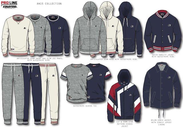 starter clothing line