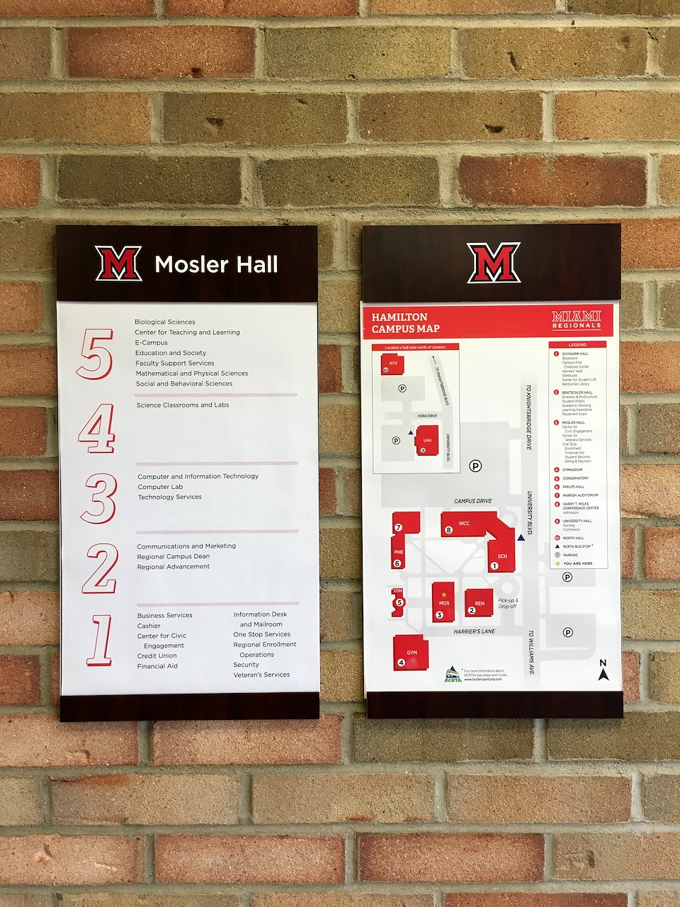 miami hamilton campus map Miami University Regionals Branded Pieces T Mackenzie Bryant miami hamilton campus map