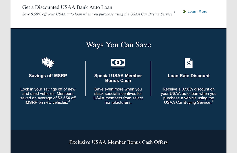 Usaa Car Loan >> Usaa Car Buying Service Andre Reeves Ux Technologist