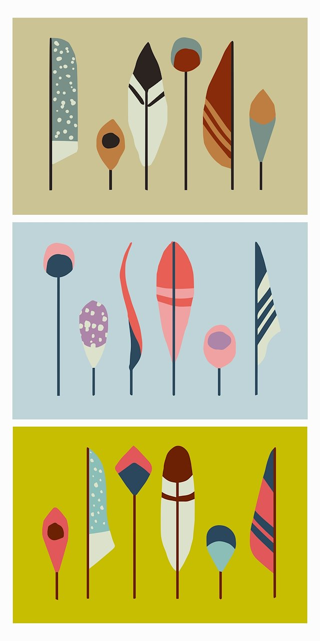 Laetitia Ulick - Mid-Century Inspired Wall Art