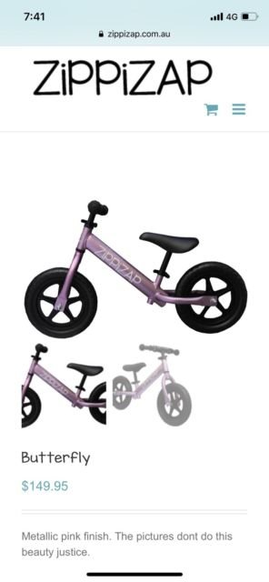 Best Balance Bike For 2 Year Old Zippizap Australia