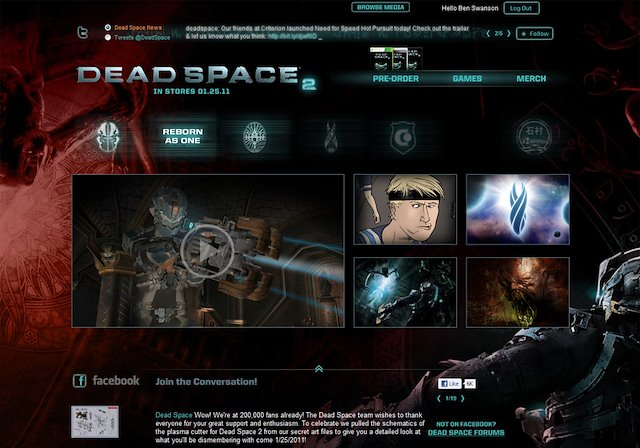 Re-thinking UX for Dead Space 2 - Ben Swanson on
